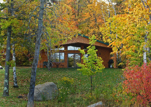 fall color tours, minnesota cabin, Minnesota Fall Fishing Vacation