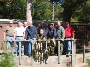 largemouth bass fishing, minnesota fall fishing