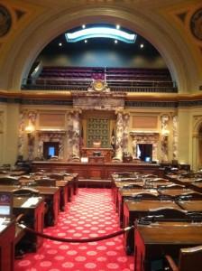 Minnesota Capitol Senate Chambers