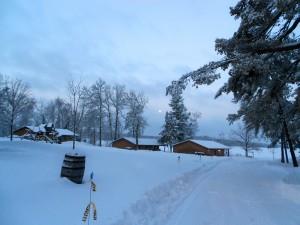 minnesota winter cabins