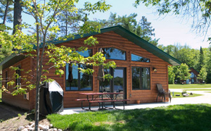 2 bedroom cabin | grand rapids vacation lodge | cabin getaway