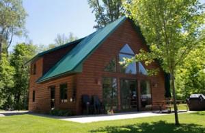 Four bedroom resort cabin