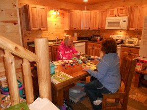 girlfriend getaway, girls weekend, scrapbooking retreat