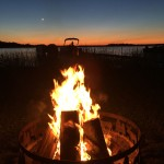 things to do at wildwood resort, campfires every night, relax by the lake, night time activities at wildwood