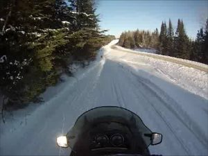 snowmobile vacation