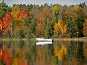 minnesota fall fishing resort